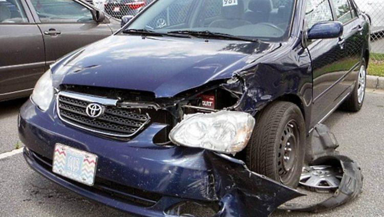 car wreck damage