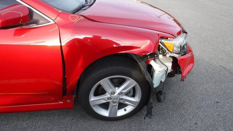 auto bumper damage