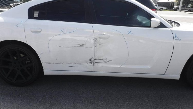auto panel damage